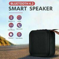 Smart Mini Wireless Speaker Bluetooth V4.2 IPX5 Waterproof Micro USB Charge
