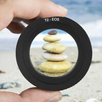 T2-EOS Metal Mount Adapter Ring for T Telescopic/Reversion Lens to for Canon EOS