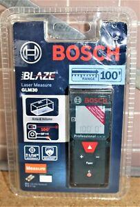 Bosch BLAZE 100-ft Laser Distance Measuring Tool GLM30