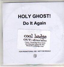 (CU197) Holy Ghost!, Do It Again - 2011 DJ CD
