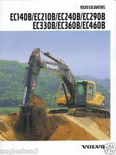 Equipment Brochure - Volvo - EC140B EC460B et al - Excavator - 2002 (E1057)