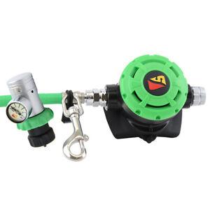 Dive Rite O2 Deco Regulator - Green