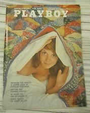 """Magazine PLAYBOY November 1971 DEBBIE HANLON-COVER""""DANIELLE DE VABRE-CENTERFOLD"""""""