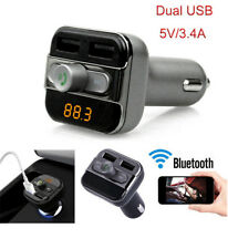 Car Usb Charger Wireless Bluetooth Auto Vehicle Accessories For Mp3 Player
