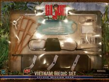 "NIB 1999 Hasbro 12"" G.I. Joe Vietnam Medic Set Deluxe Mission Gear sealed"