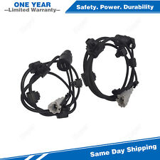 2PCS Rear Left & Right ABS Wheel Speed Sensor For 2001-2007 Toyota Sequoia 4.7L