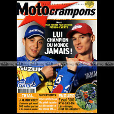 MOTO CRAMPONS N°217 STEFAN EVERTS KTM 300 EXC TM GAS GAS EC ENDURO TOUQUET 2003