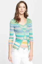 * NWT, Missoni Orange Label Stripe V-Neck Shell Cardigan set 38 IT (2 US) $1850