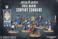 Games Workshop Warhammer 40K Space Marine Company Command Boxed Set