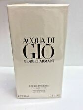 Aqua Acqua Di Gio Eau de Toilette EDT 6.7 oz by Giorgio Armani Men NIB SEALED