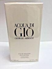Aqua Acqua Di Gio Eau de Toilette EDT 6.7 oz by Giorgio Armani Men NIB SEALED