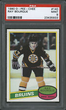 1980-81 O-PEE-CHEE ~ #140 ~ RAY BOURQUE ~ CENTERED ~ HIGH END ~ PSA MINT 9