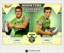 2012 Select NRL Champions Showtime Holochrome Card ST2 Dugan/McCrone (Raiders)