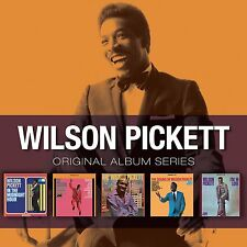 Wilson Pickett ORIGINAL ALBUM SERIES Box Set EXCITING Wicked SOUND OF New 5 CD