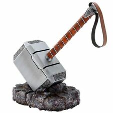 1:1 Full Metal Avengers Thor Hammer 1:1 Replica Prop Mjolnir Resin Base Cosplay