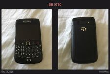 GOOD COND BlackBerry  Bold 9780 - Black Smartphone (QWERTY Keyboard) UNLOCKED