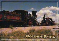 Jupiter Locomotive, Golden Spike Site Promontory Utah -- Railroad Train Postcard