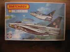 MAQUETTE 1/72 VINTAGE  MATCHBOX BAC LIGHTNING F6 / F 2A   MILITAIRE AVION