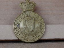 Reproduction Connaught Rangers Victorian Glengarry Badge Brass Well Made Replica