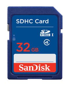 SanDisk SD 32 GB Class 4 - SDHC Card