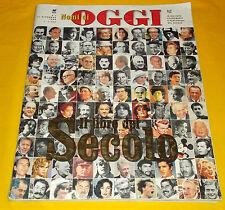 NOMI DI OGGI - Il Libro del Secolo - N. 2 - 31 Dicembre 1999