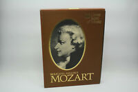 Time-Life Great Men Of Music Wolfgang Amadeus Mozart 4 Cassette Set & Booklet