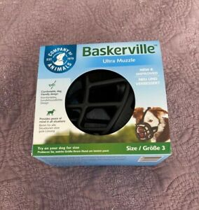 Baskerville Dog Muzzle (Basket) - Size 3