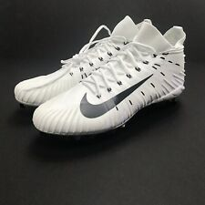 Nike Alpha Menace Elite Football Cleats - 871519-101 - White/Black - Size: 16