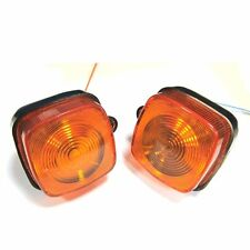 2X FRONT TURN SIGNAL LIGHTS FOR HONDA CT70 CB125S XL 100S 125S 80S NC50 TRAIL 70
