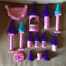 Lego Duplo Cinderella Castle Turret Tower and Other Replacement Pieces Lot