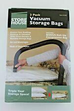 Vacuum Storage Bags 5 Bags plus 1 Bonus Roll-up Compression Bag Brand new No Box