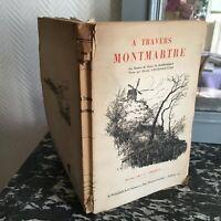 CHARPENTIER à travers Montmartre dessin Henry Marandat éditions d'Art CROQUIS