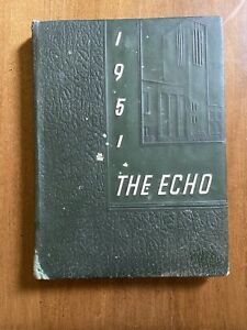 1951 McCaskey High School Yearbook, Lancaster, Pa. The Echo
