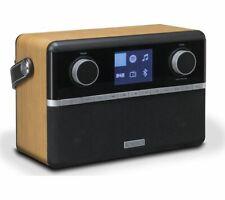 ROBERTS Stream 94i Portable DAB+/FM Smart Bluetooth Radio Black & Wood - Currys