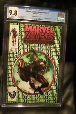 Marvel Zombies Resurrection #1 CGC 9.8 Suayan Green Wolverine  Spider-Man 300