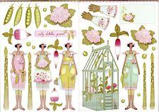 Tilda Papercraft Pack – Tilda's Kitchen Garden A4 New