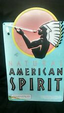 Natural American Spirit Tobacco Cigarette Indian Chief Sign MAN CAVE