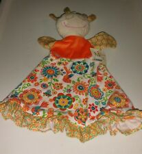 Maison Chic Doll Floral Cloth Puppet Jenna 3 in 1 Rattle Security Blanket Baby