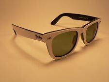 Ray-Ban Wayfarer Sunglasses RB2140 White Black / Grey Lens