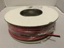 2.5A Rojo Y Negro Doble núcleo o cable de altavoz 100m Rollo De Alambre Automotriz