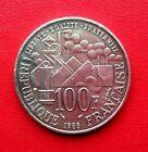 MONNAIE DE 100F EMILE ZOLA 1985 EN ARGENT MASSIF 900%
