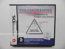 jeu ENGLISH TRAINING sur nintendo DS en francais game juego spiel complet  -#1