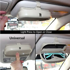 1x Car SUV Sun Visor Sunglasses Eyeglasses Holder Card Ticket Pen Clip Universal