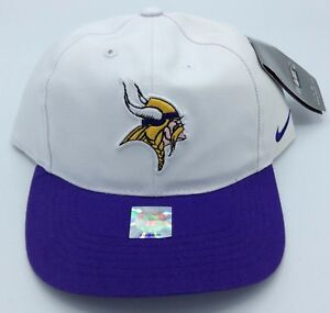 NFL Minnesota Vikings Nike Adult Structured Adjustable Cap NEW SEE DESCRIPTION