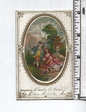 Antique Reward of Merit - RARE Add-On Card - Oval Color Picture Added