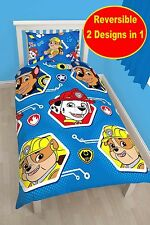 Nickelodeon Paw Patrol 'reversible' giratorio cama individual