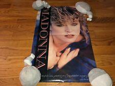 Madonna Vintage 1985 Print Advertisement Poster Congratulations from Warner Bros