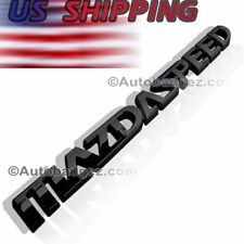1 - NEW 3D MAZDASPEED BLACK Badge Emblem Miata Mazda 2 3 5 6 RX7 RX8 MAZDA SPBK