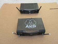 2 AKG SR40 Wireless Receivers no power supply included
