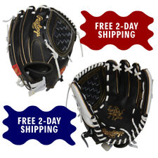 RAWLINGS 12-INCH HEART OF THE HIDE FASTPITCH SOFTBALL GLOVE - PRO120SB-3BW